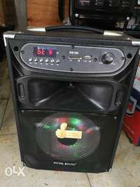 Speaker rechargeable powered 0