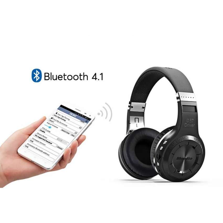 Bluedio H+ Bluetooth Headphones 0