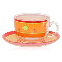 Весенний и Яркий! Чайный/кофейный сервиз Luminarc G4438 PAREO CORAIL