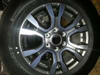 Image of Ford Ranger mags good as new and tyres new 255/60R18 a set of four.