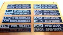 Эмблемы, шильдики экспортные ВАЗ 2105, ВАЗ 2107, Лада Рива, Нива, Жи