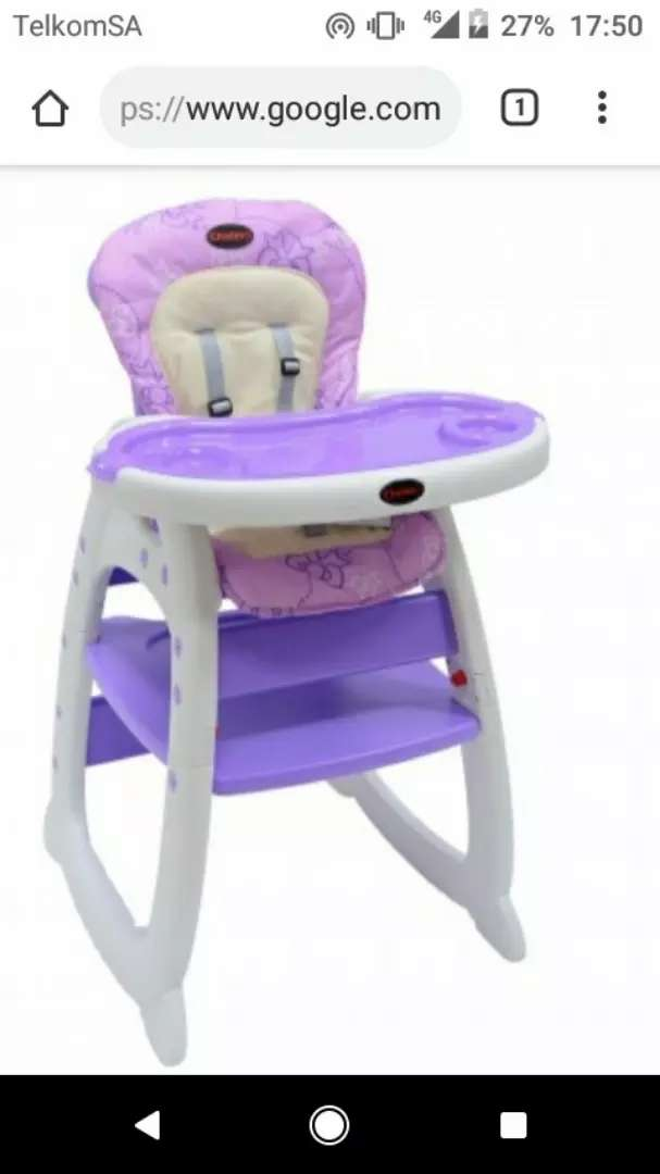 Baby high chair 2 in 1 0
