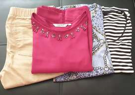 Tops and shoes