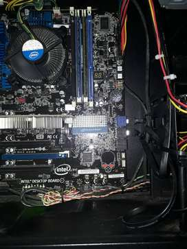 i7 INTEL GAMING BOARD TOWER GOOD COND R3500