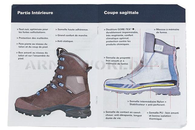 Buty Wojskowe Francuskie Haix Nepal Pro Nowe - II Gatunek r.42 Sierakowice - image 7