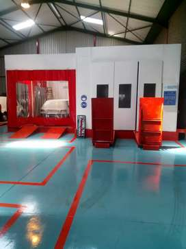 We do Spraybooth dismantling and installation services