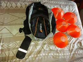 exercise cones + Grays Hockey bag for sale