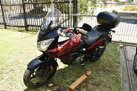 Suzuki V-Strom 650DL for excellent condition for sale