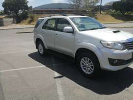2012 Toyota Fortuner 2.5 D-4D Manual