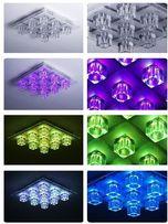Nowoczesna Lampa sufitowa OKI RGB Leuchten Direkt LED + pilot 50385-1