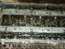 Mazda bt50 complete cylinderhead with cams and rockers