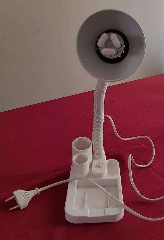 Used good condition desk lamp with organiser 0
