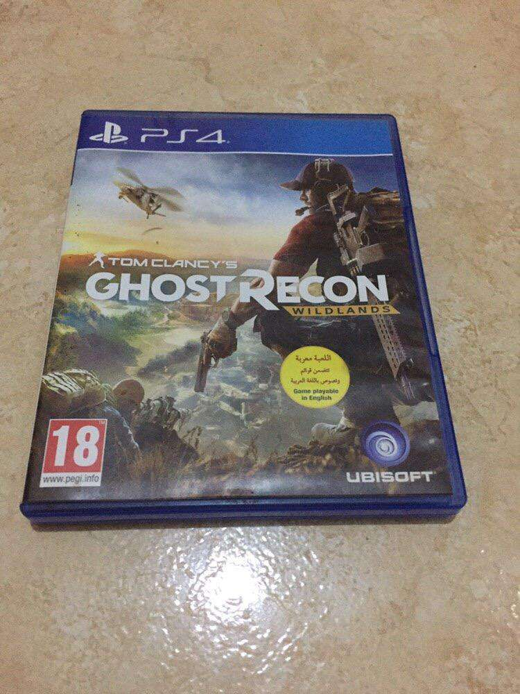Ghost recon PS4 0