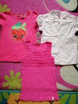 Bluzki i koszula r.122-128zestaw
