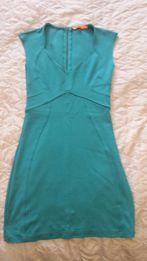 Zielona(Szmaragdowa) sukienka rozmiar S/M Bershka