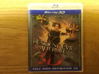 Resident Evil: Afterlife 3D/2d blu-ray