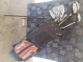 Spalding golf bag with Spalding, Callaway clubs