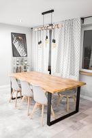 Stół dąb / rustykalny drewno lite industrial loft drewniany biurko