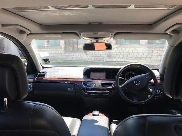 Разборка Mercedes s-class w221 капот крыло бампер дверь порог решетка Луцк - изображение 7