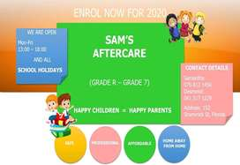 SAM'S AFTERCARE