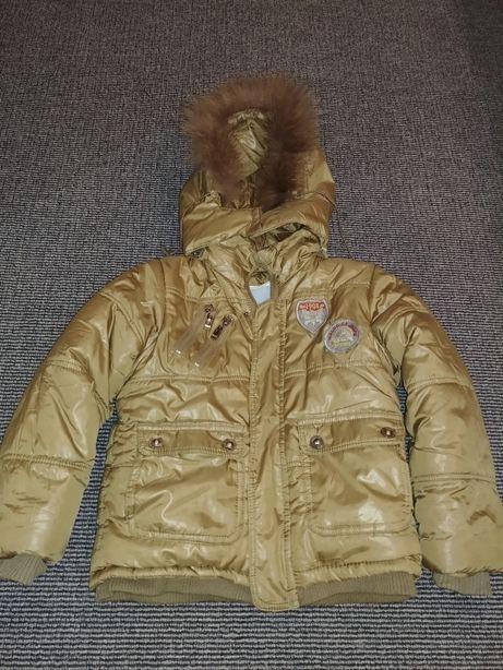 Продам зимний тёплый костюм на рост 104-110 см. На фото ребёнок 116см Харьков - изображение 5