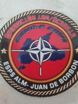 """Шеврон Испанской Армии """"ESPS ALM - JUAN DE BORBON"""""""