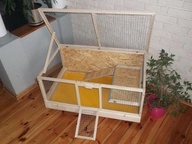 Klatka drewniana zagroda dla królika świnki morskiej. Myszków - image 3
