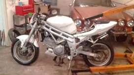 Complete bike, engine needs to be assembled