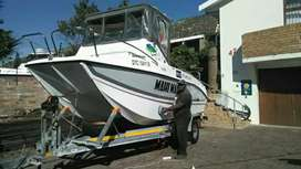 Boat cleaning and polishing