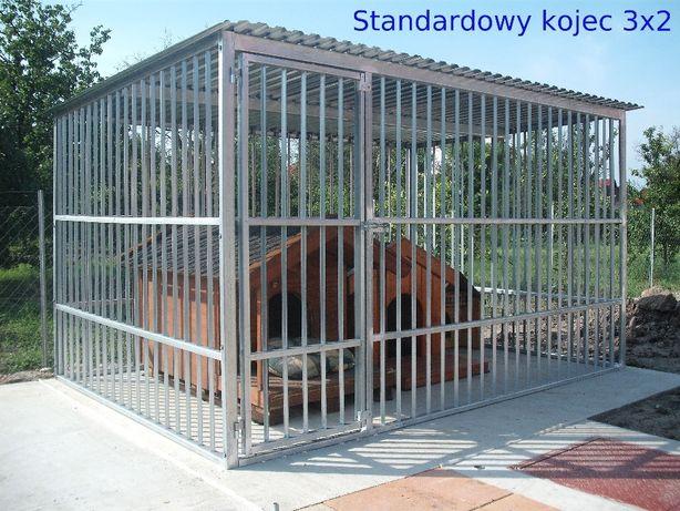 Kojec dla psa, klatka, boks 3x2 ocynkowany Kościerzyna - image 1