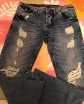 Gucci Italy джинсы штаны