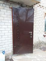 Металлические двери,забор,решётки,навесы поликарбонат,ворота,калитки
