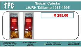Nissan Cabstar LH/RH Taillamp 1987- For Sale.