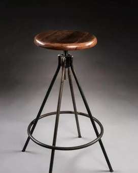 Industrial style metal bar stools with a modern twist. Order today!