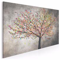 Obraz na płótnie - abstrakcja - drzewo 120x80 cm (30601)