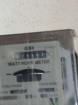 3-Phase Electricity Metre counter