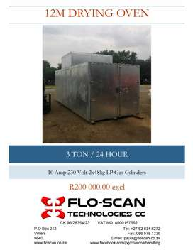 12 M Drying Oven