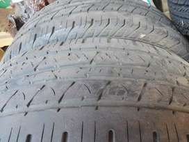 2 x 255/60/R18 Used Continental Tyres for Sale