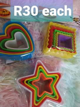 5pc cookie cutters