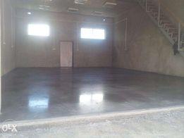 Бетонна промислова високоміцна підлога