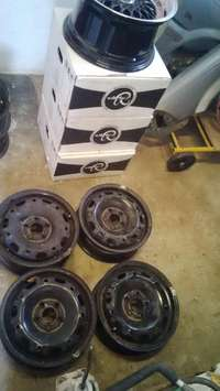 Image of Polo ViVO steel rims only