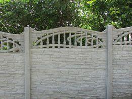 PRODUCENT OGRO-BET Ogrodzenie betonowe - kręgi betonowe