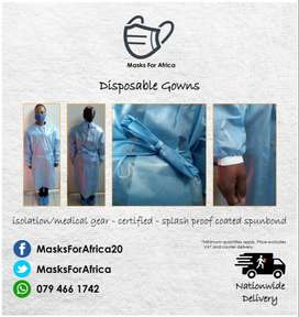 Disposable Medical Gowns & Accessories