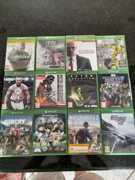 XBOX 1 games (R1750 for all games) (R200 per game)