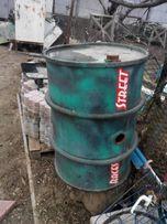 Бочка 200 литров оцинкованая