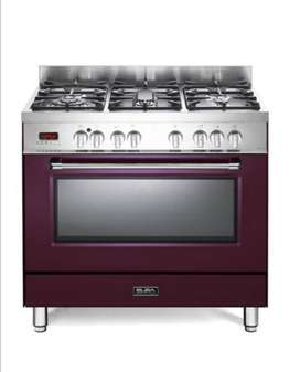 Elba 90cm gas top electric oven