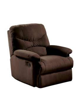 Arcadia Suede Recliner chair/sofar/couch/single seater