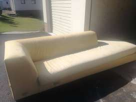 CORRICRAFT 10SEATER COUCH BULL DENIM COUCH
