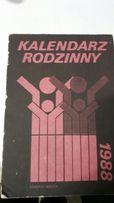 kartki z kalendarza 1988 podwójne