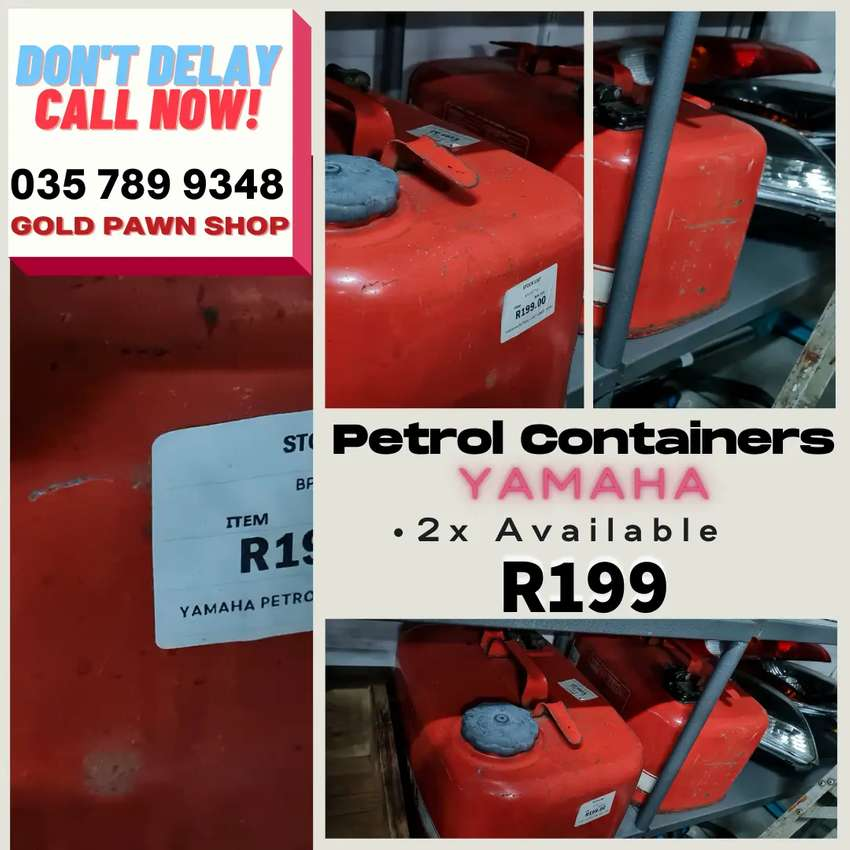 YAMAHA Petrol Containers for Boats